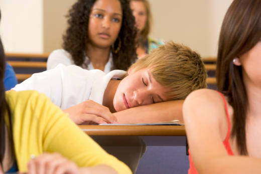 Research shows two-thirds of adolescents aren't getting enough sleep, and that the consequences are far-reaching.