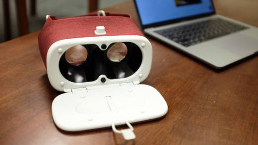 Lightweight VR headsets like Google's Daydream View allow therapists to utilize virtual reality in their sessions.