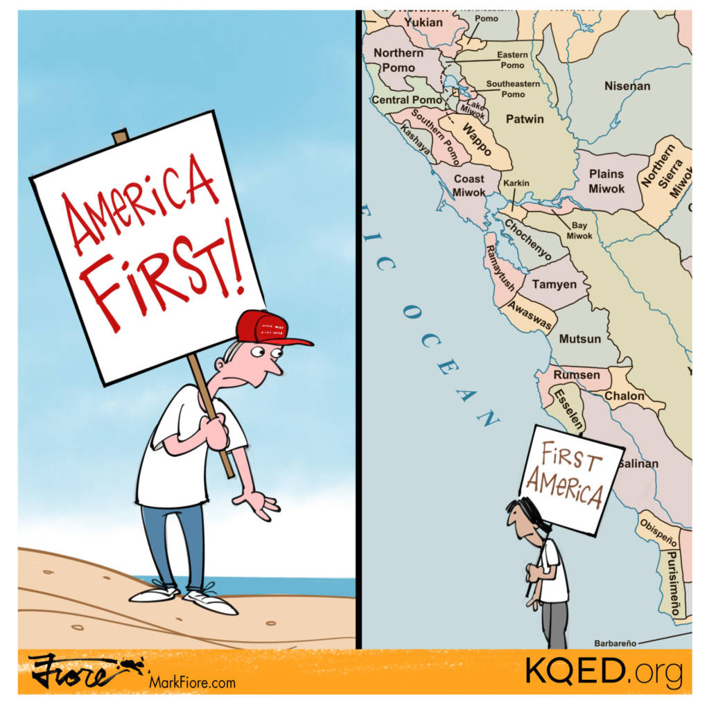 America First by Mark Fiore