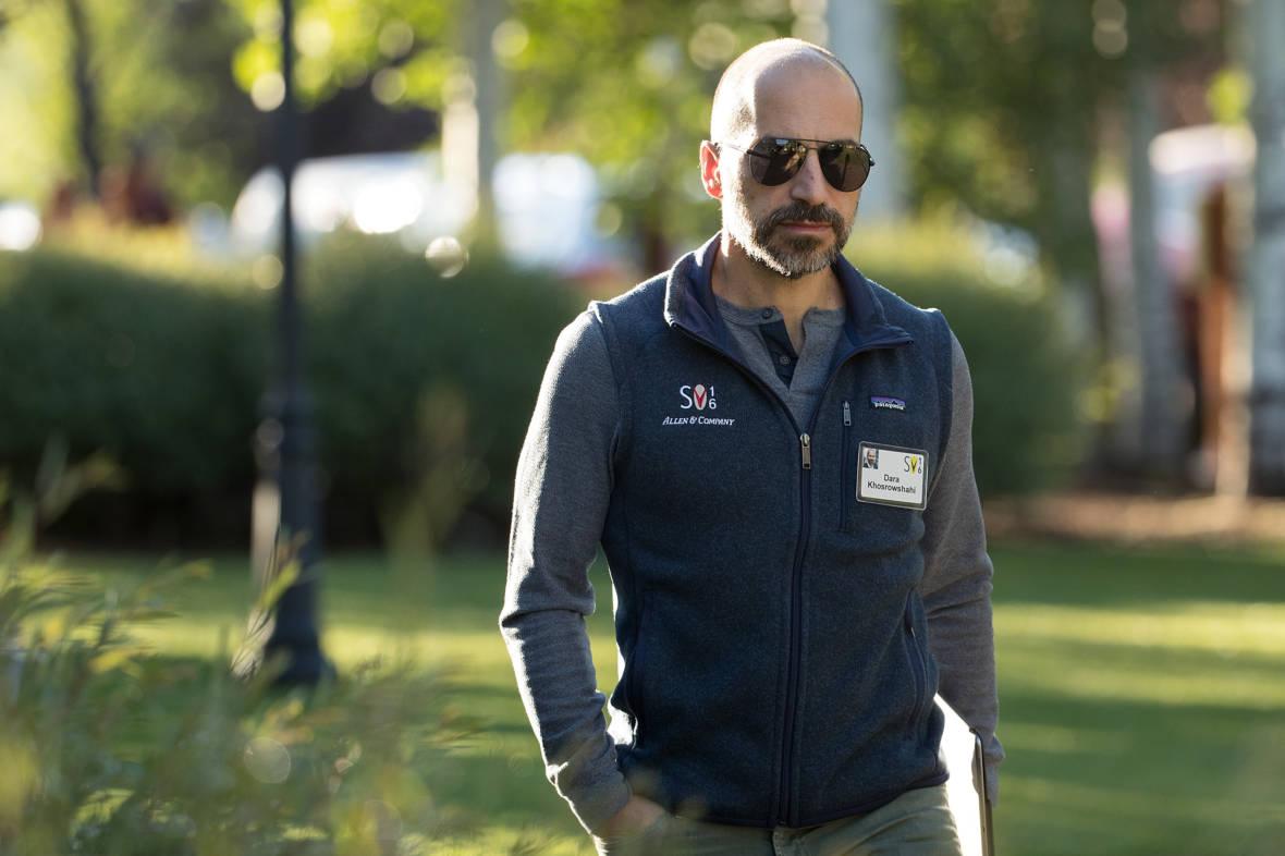 Uber Picks New CEO, Expedia's Dara Khosrowshahi
