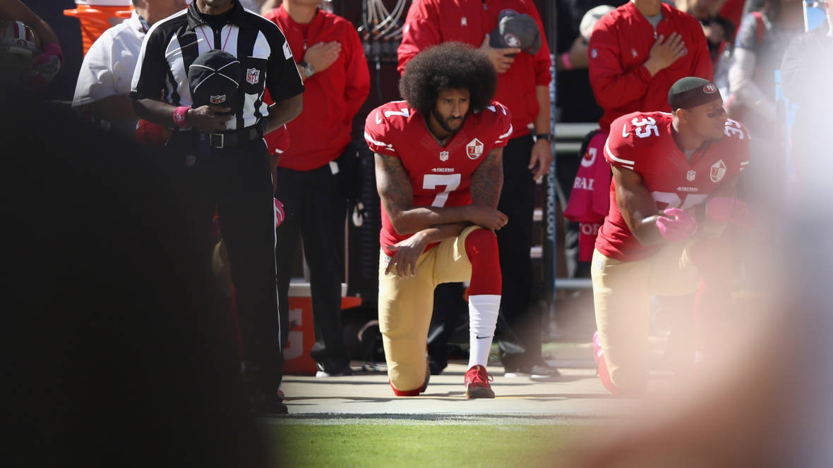 He Took a Knee on the Field in Protest, and He Still Has No Team
