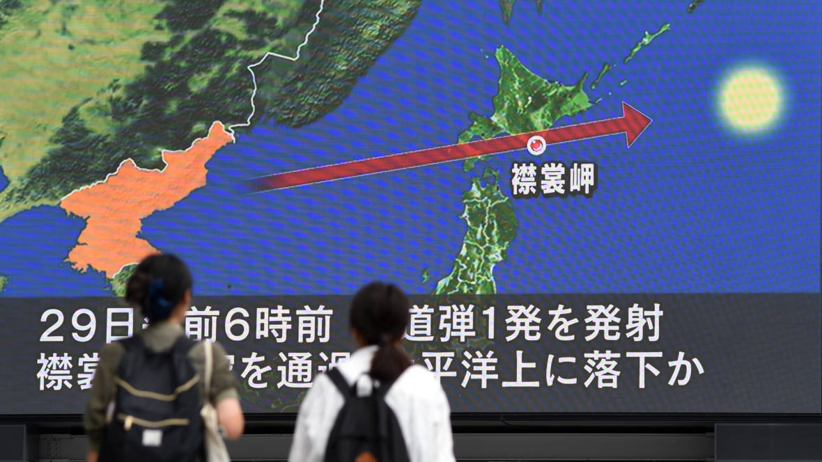 'All Options Are on the Table': Unease Reigns After North Korean Missile Test
