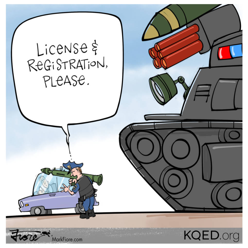 License & Registration by Mark Fiore