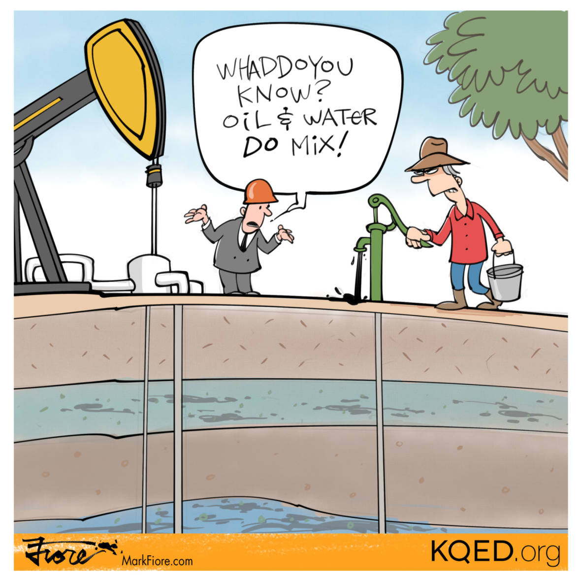 Oil Wastewater in Drinking Water Aquifers