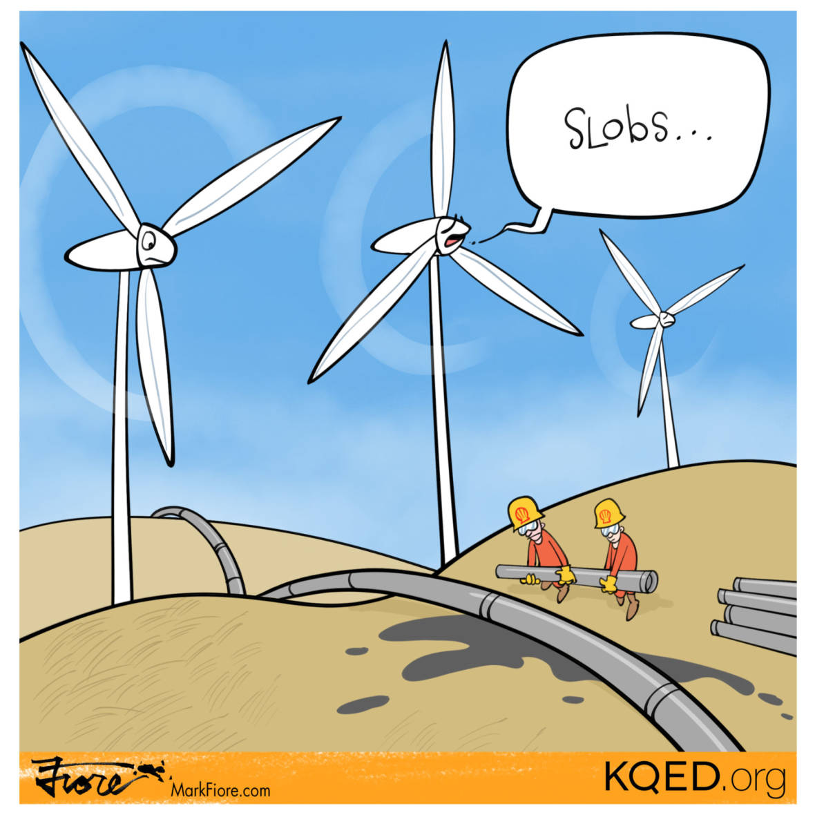 Slobs by Mark Fiore