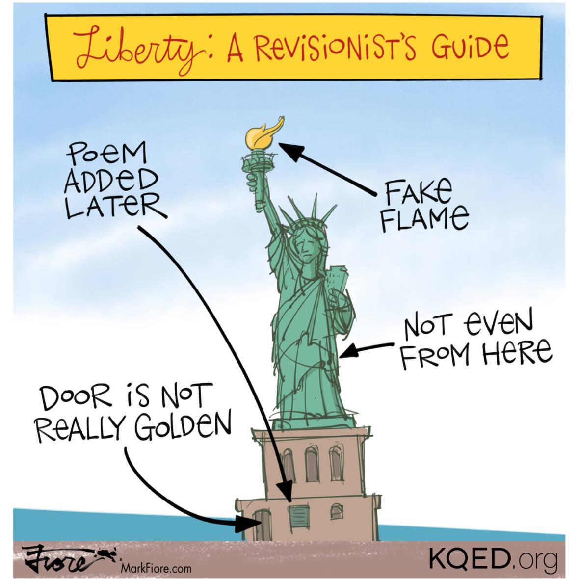 Statue of Liberty Poem Politics