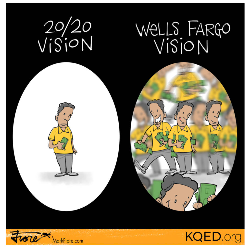 Wells Fargo Vision by Mark Fiore
