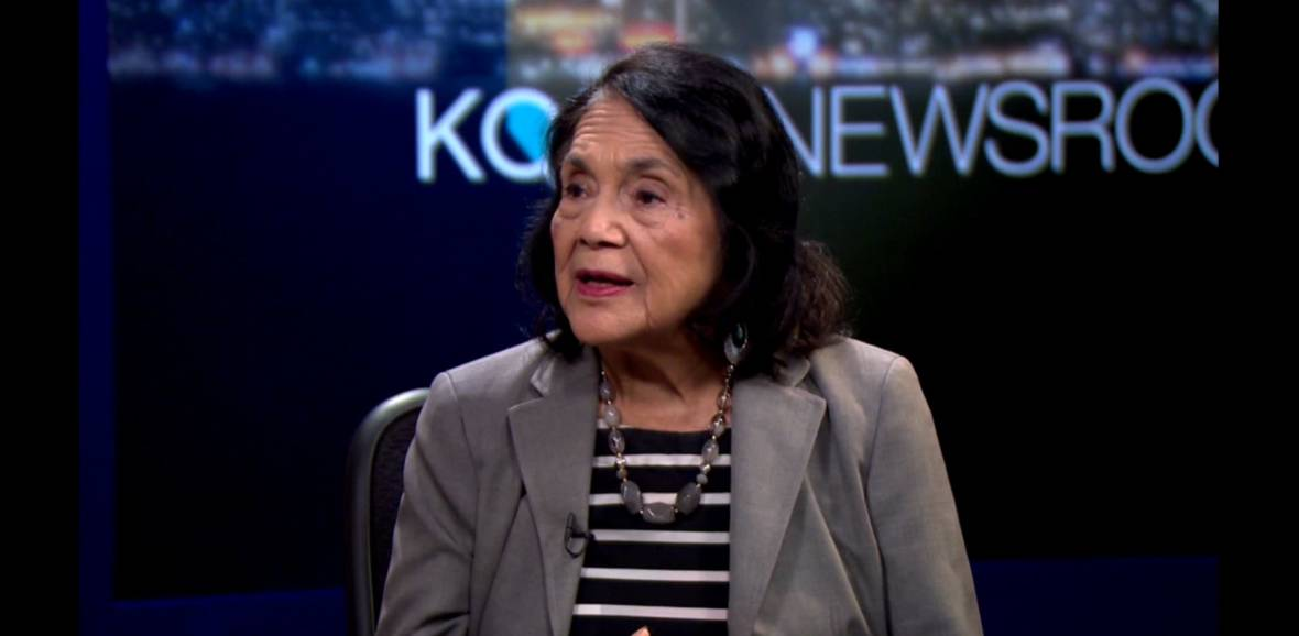 Dolores Huerta and Peter Bratt on the Documentary 'Dolores'