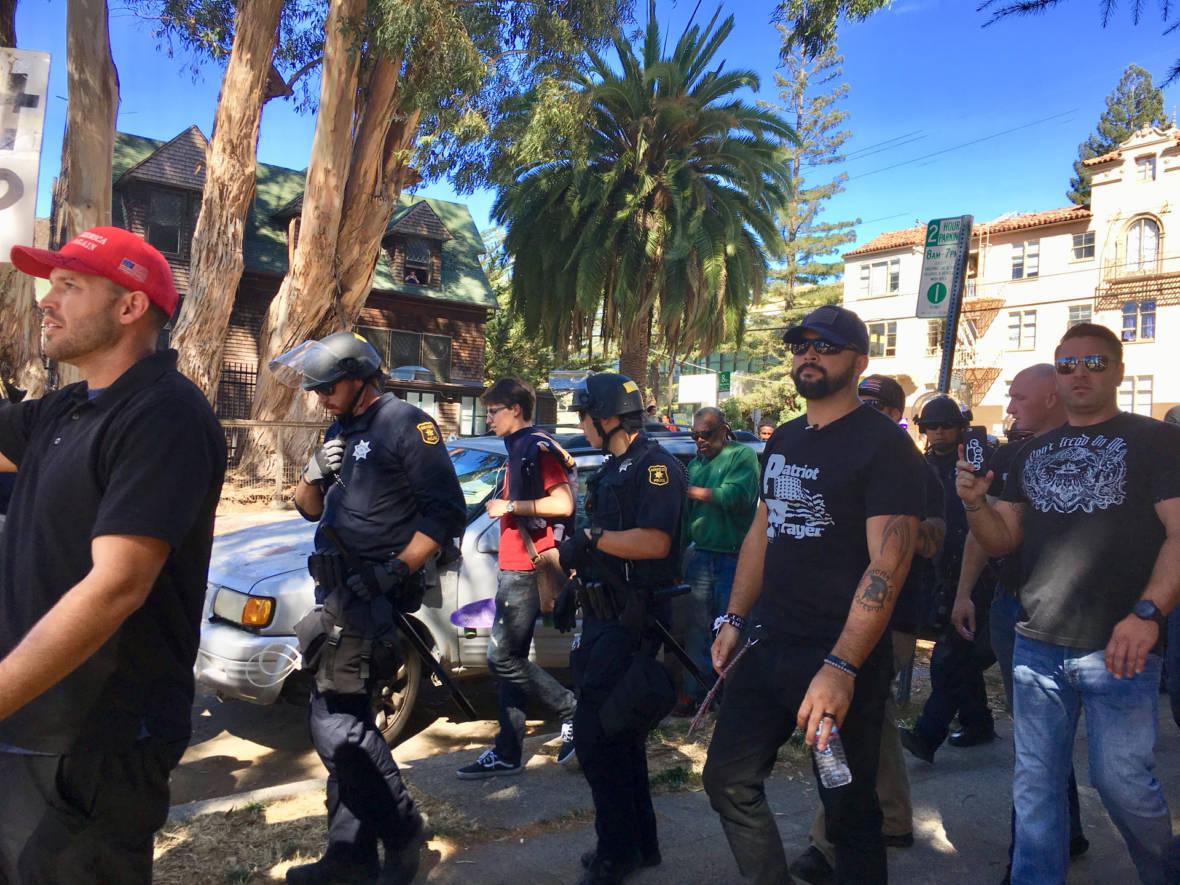 Far-Right Patriot Prayer Protests Scrapped 'Free Speech Week' at UC Berkeley