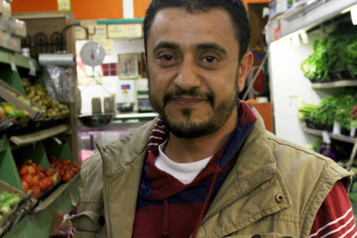Mogeeb Alomri, a Yemeni-American, owns 'Mi Ranchito' grocery store in Oakland's Fruitvale neighborhood. He said President Trump's new travel restrictions make it nearly impossible for him to bring his wife and children from war-torn Yemen to the U.S.
