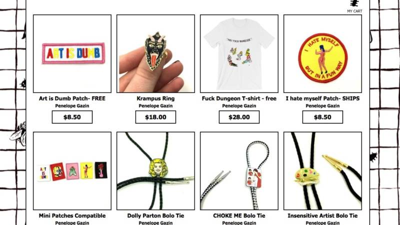 Witchsy is an online marketplace similar to Etsy, but edgier