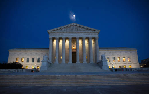 The U.S. Supreme Court will issue a decision by the end of June — just a few months before next year's Congressional elections. The outcome could affect which party controls Congress.