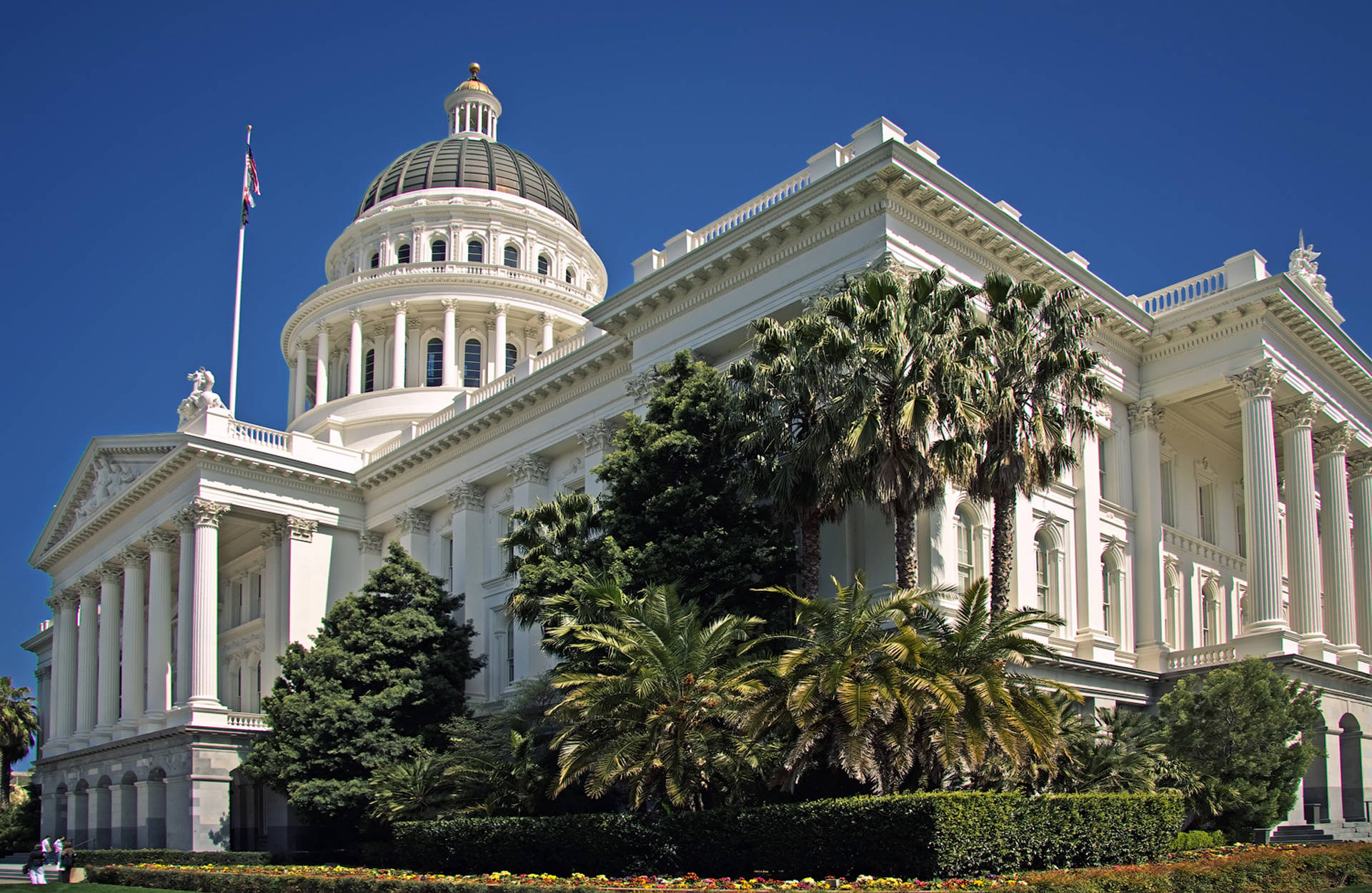The state Capitol in Sacramento. Wikimedia Commons