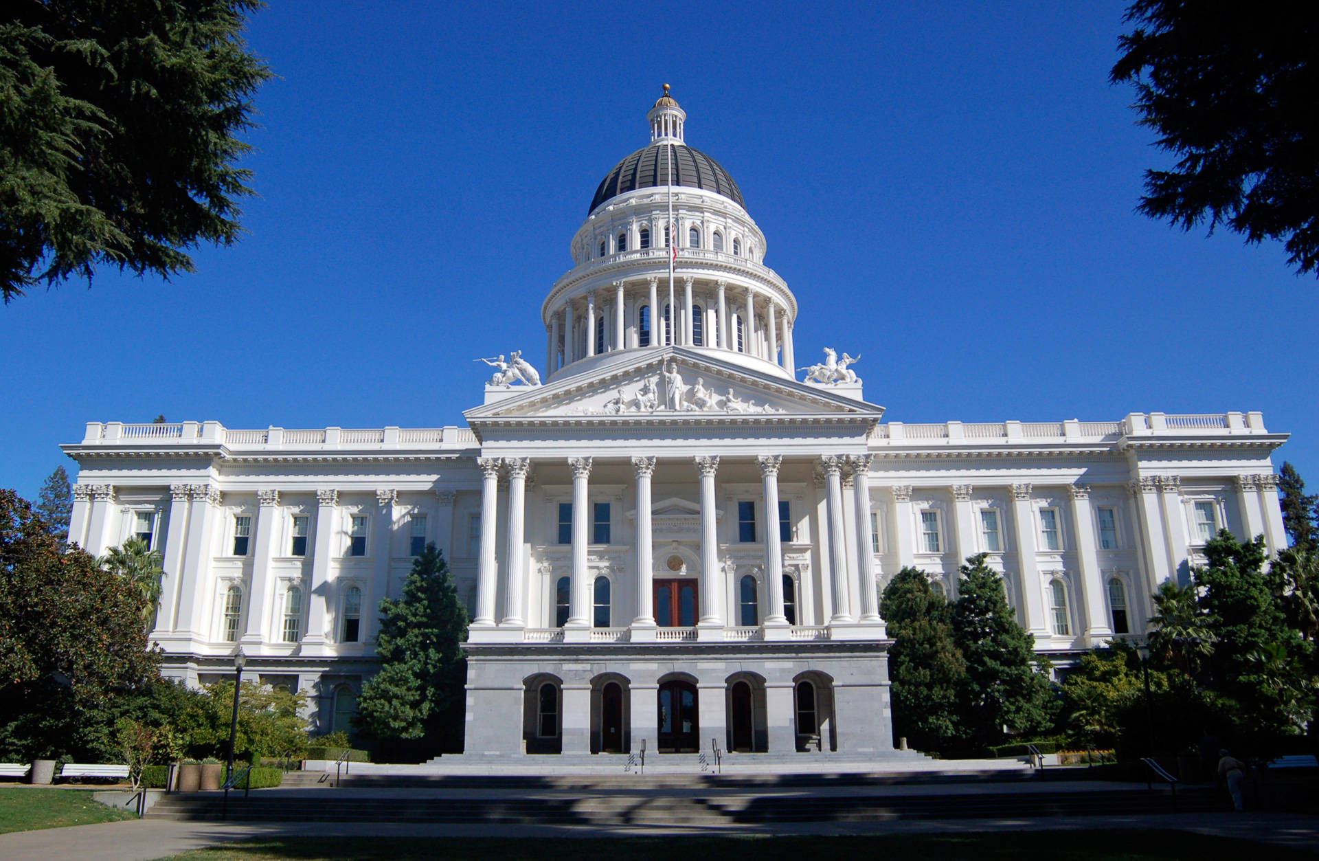 The state Capitol in Sacramento. Getty Images