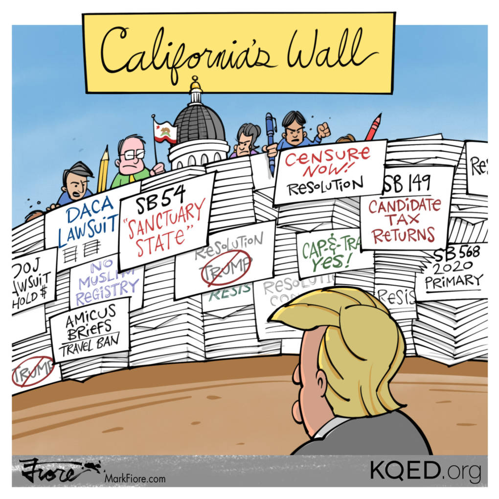 California Wall by Mark Fiore