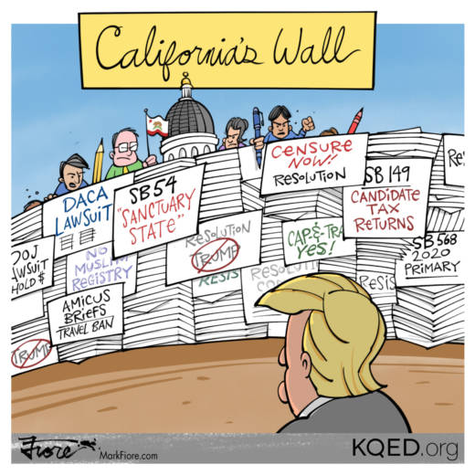 California Wall by Mark Fiore