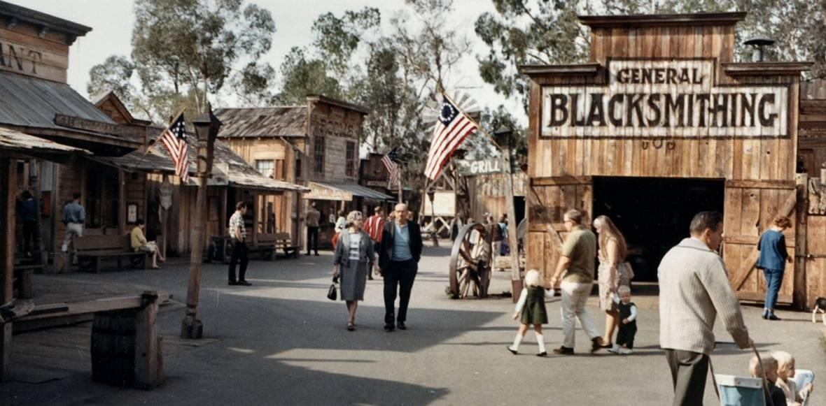 """Old West, as seen through 1967 Orange County eyes.  <a href=""""https://www.flickr.com/photos/ocarchives/4724276311"""">Orange County Archives</a>, <a href=""""http://creativecommons.org/licenses/by/4.0/"""">CC BY</a>"""