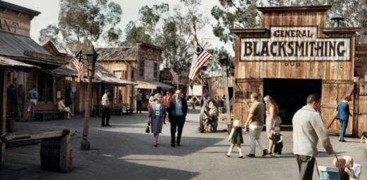 Knotts Berry Farm historic photo