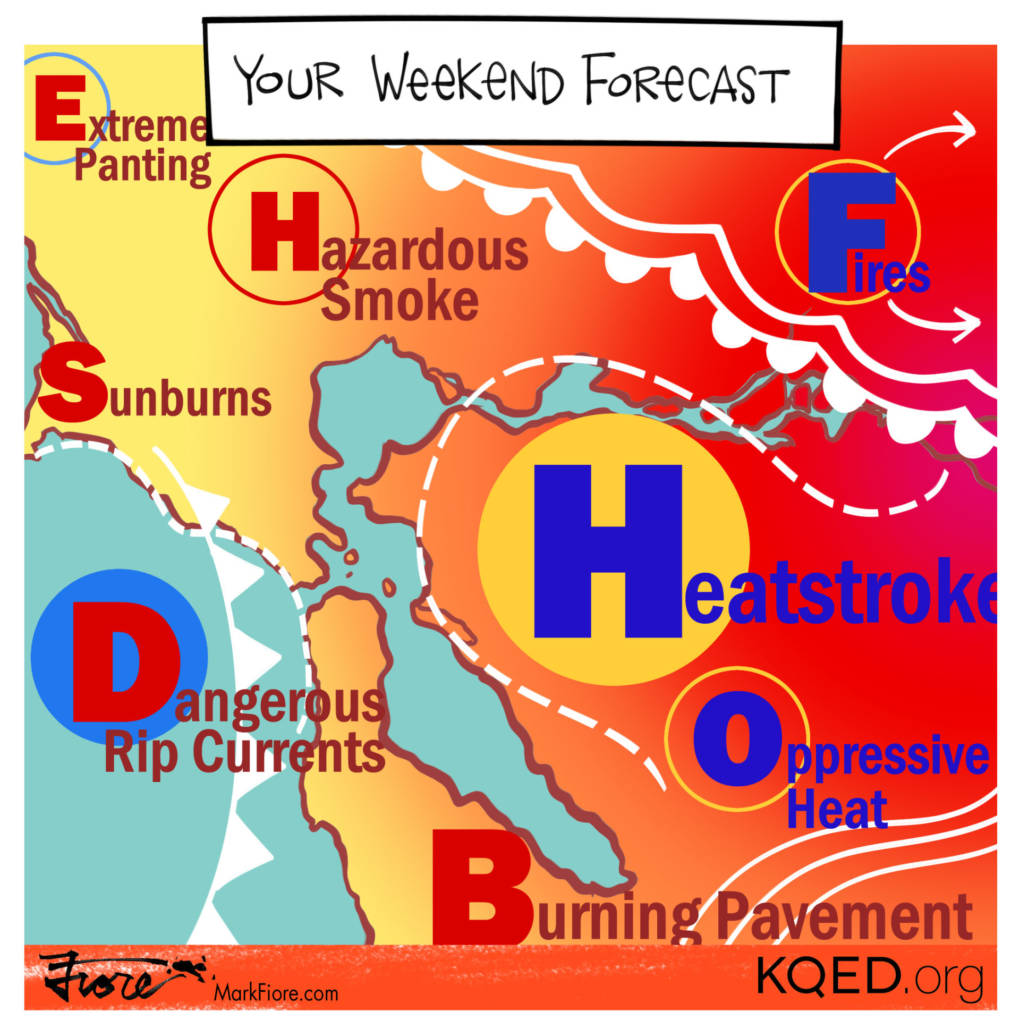 Weekend Forecast by Mark Fiore