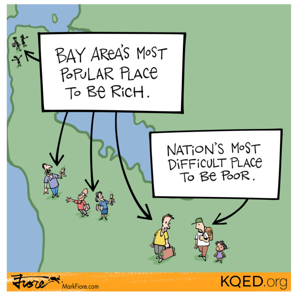 San Jose Poor by Mark Fiore