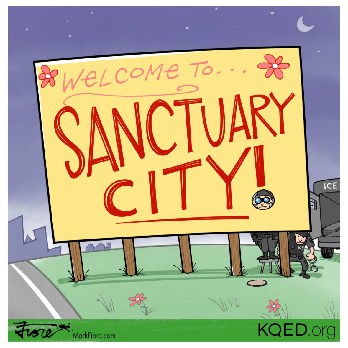 ICE Raids Target 'Sanctuary Cities'