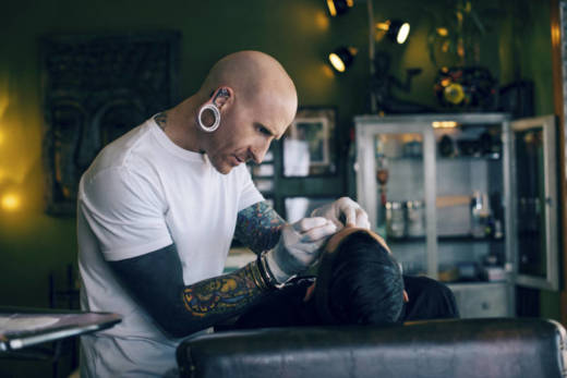 Brian Keith Thompson, owner of the Body Electric tattoo and piercing studio in Hollywood, says he is relentless in enforcing hygiene standards.
