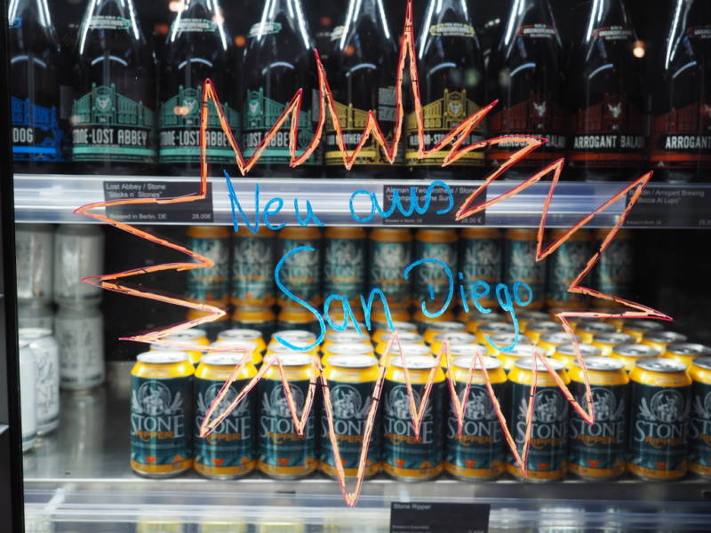 Germans now have access to beer 'new from San Diego.'