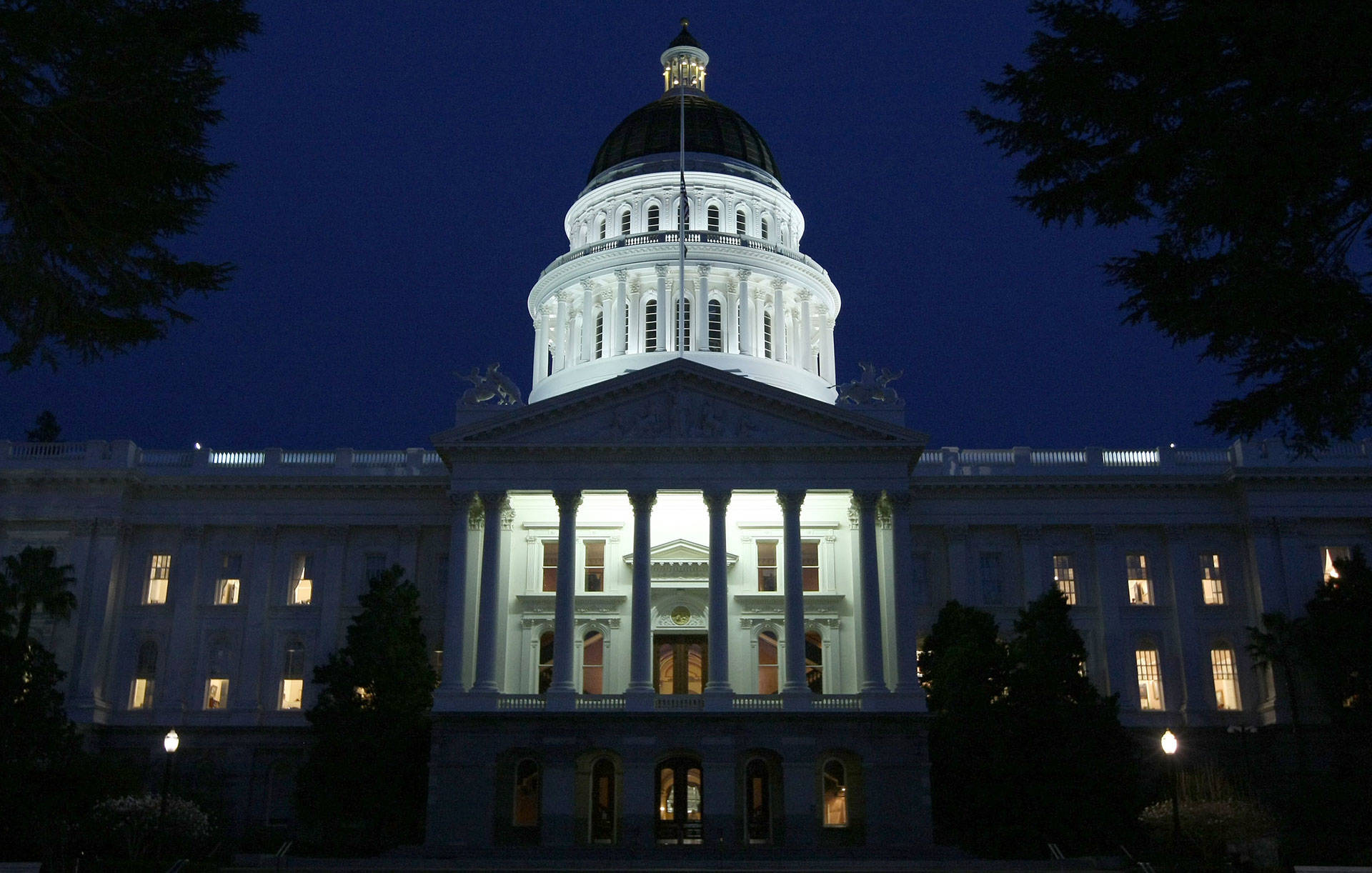 The state Capitol in Sacramento. Justin Sullivan/Getty Images