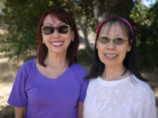 Sisters Evelyn and Jessica Kheo arrived at Camp Pendleton from Vietnam when they were teenagers.