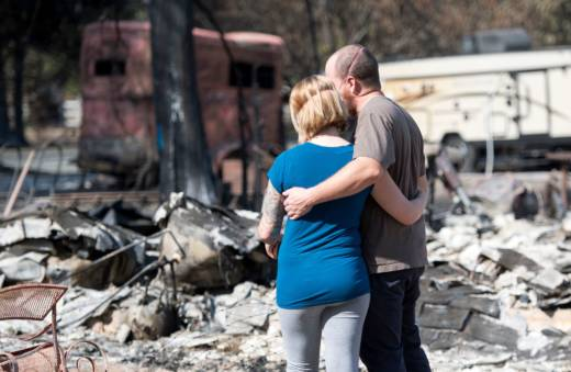 The recovery effort for North Bay Fire victims has just begun, but state officials said cleanup could last into early 2018.