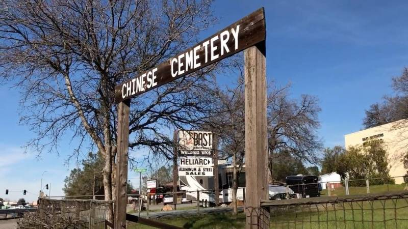 You'd have to go looking for Auburn's Chinese cemetery, located as it far off the main drag. Many Chinese communities during the Gold Rush did not have their own cemeteries. Others had several, each dedication to different families coming from different regions of China.