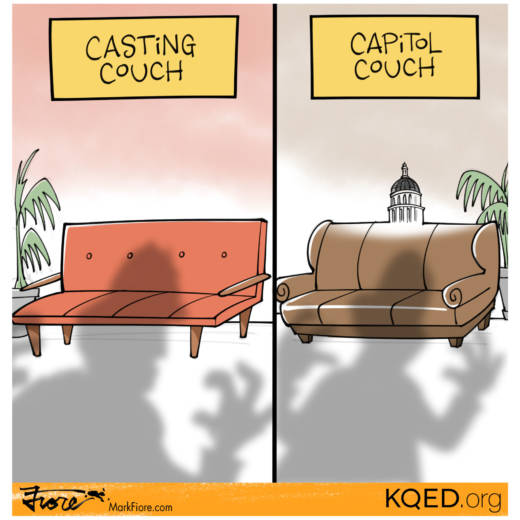Couches by Mark Fiore