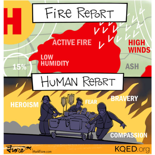 Fire Reports by Mark Fiore