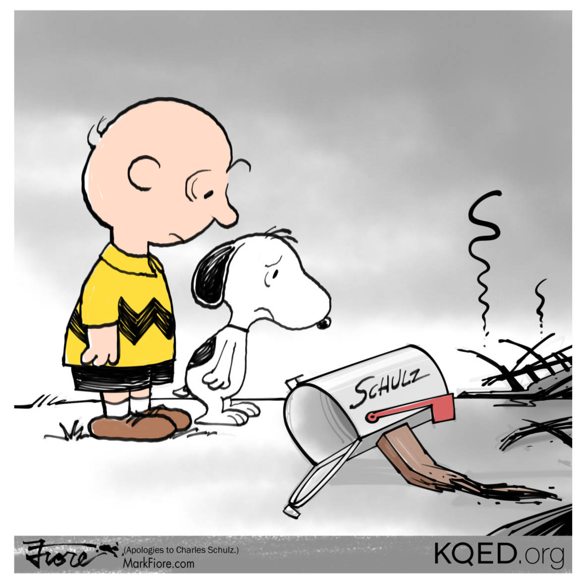 Good Grief by Mark Fiore