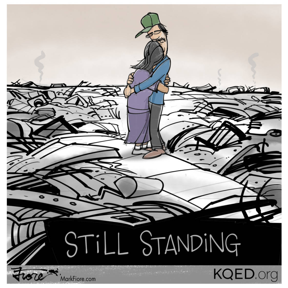 Still Standing by Mark Fiore