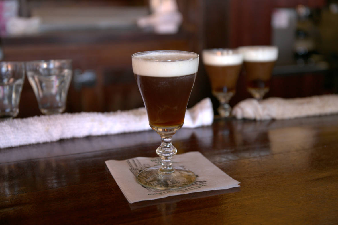 The True History of Irish Coffee and Its San Francisco Origins