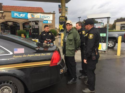 San Joaquin County Sheriff's deputies arrested Randall Saito, the Hawaii State Hospital escapee, in the area of Highway 99 and Waterloo Road in Stockton.