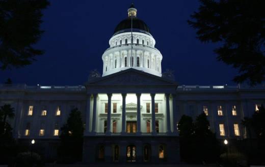 The California Capitol in Sacramento