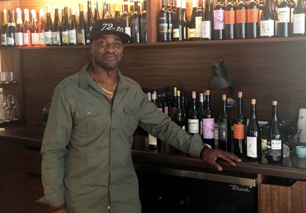 Cory Woods never thought he'd get out of the kitchen and in front of customers at a fine-dining restaurant.