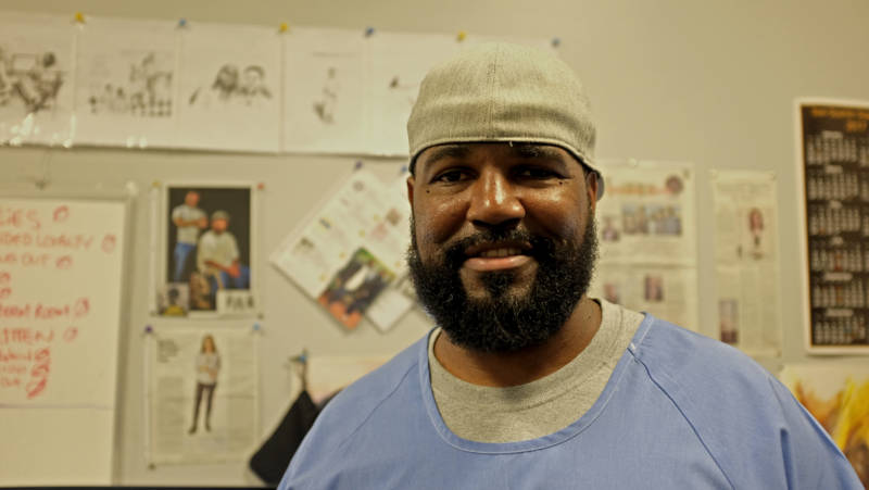 Earlonne Woods, an inmate at San Quentin State Prison, is one of the producers of the Ear Hustle podcast.