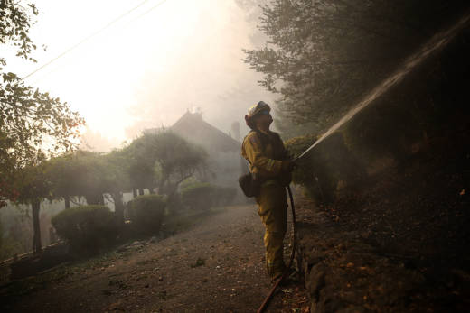Cell phones and internet service failed for many during the North Bay Fires. Even CalFire lost phone lines while the fires burned.