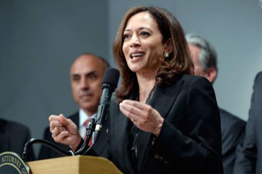 California Attorney General and U.S. Senator-elect Kamala Harris.