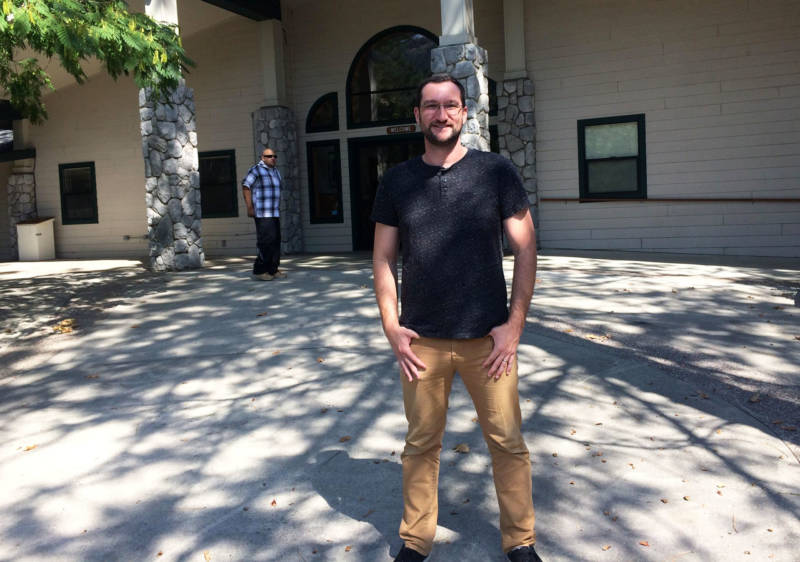 Matt Mellon runs the Jubilee Ministry in Oakhurst. They hire homeless people for up to 12 hours a week at $10 an hour.