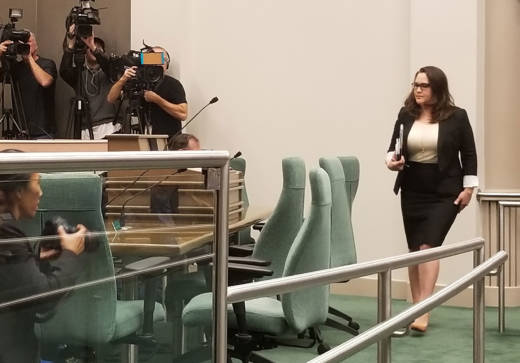 Sacramento lobbyist Pamela Lopez testified in an Assembly hearing this week that she and other women felt a complete sense of powerlessness as a result of sexual harassment they've experienced.