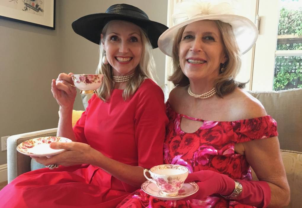 Amanda Jones (l) and Jennifer Chapin (r) co-founded Kikoko, a start-up serving mildly marijuana-laced teas designed to appeal to women like themselves.