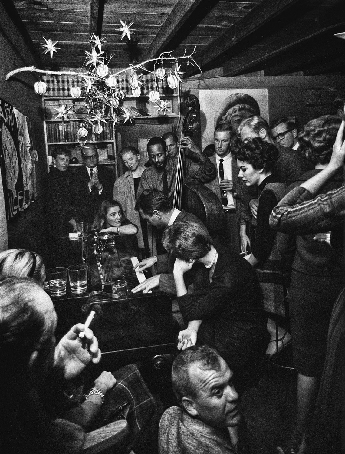 'After Hours Jam, Monterey Jazz Festival, Cannery Row' is one of Fred Lyon's favorite photos. It was taken in 1958.