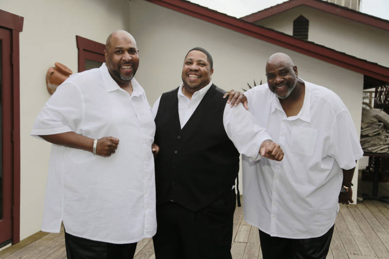 Dwayne, Walter Jr, and James Morgan -- the Sons of the Soul Revivers -- have been singing together for 47 years.