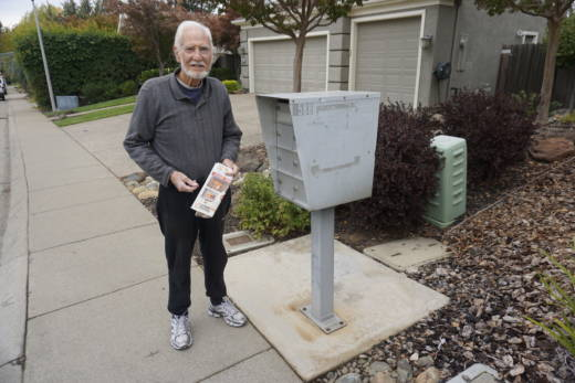 Michael Nash, 83, checks his mailbox every day, sometimes twice a day. He mostly gets junk mail. That's what gave his daughter-in-law an idea.