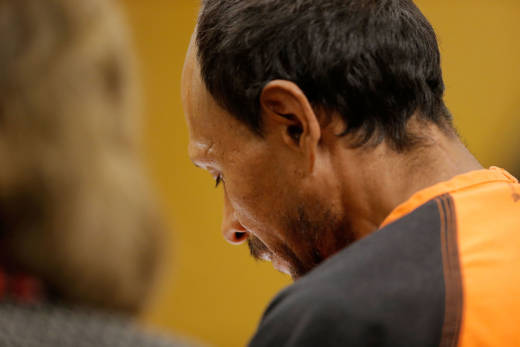 Defendant Jose Ines Garcia Zarate, who is also known as Juan Francisco Lopez Sanchez, at his arraignment on July 7, 2015, in San Francisco.