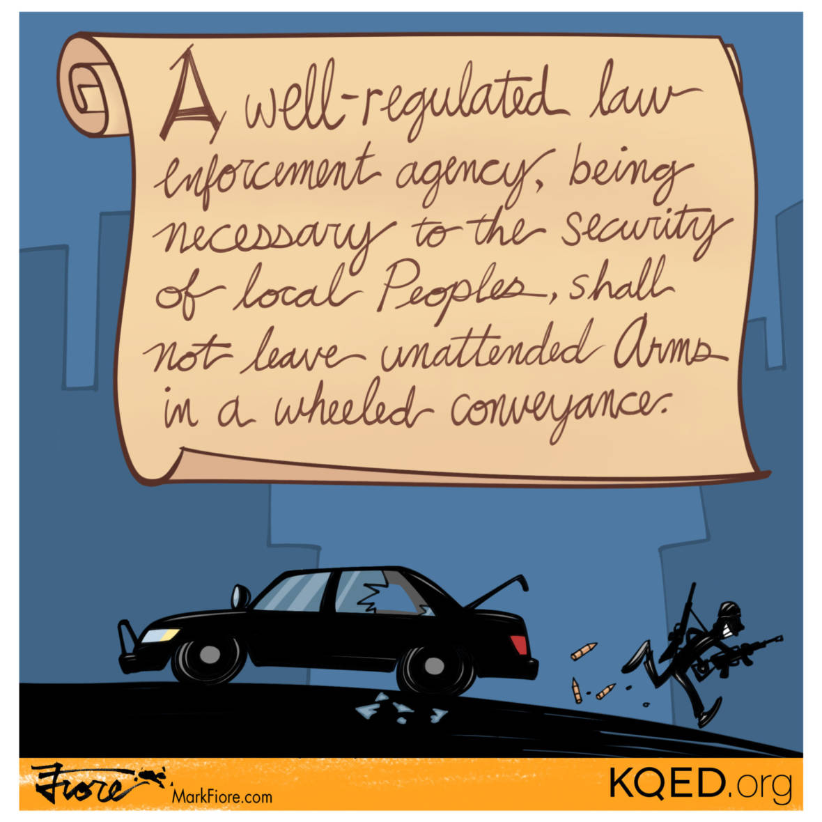 A Bay Area Second Amendment Addendum